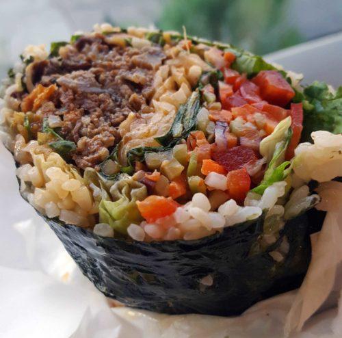sushi burritos wraps