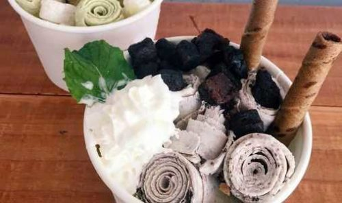Learn about Thai hand rolled ice cream rolls near youas featured in cities like NYC, Las Vegas, Houston and San Diego.