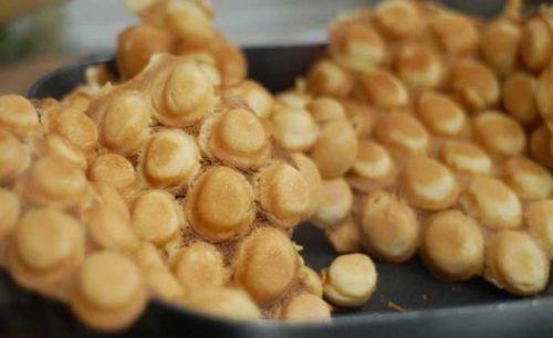 bubble egg waffles puffs puffles
