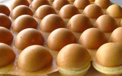 Egg Waffles: a waffle for bubble wrap poppers everywhere