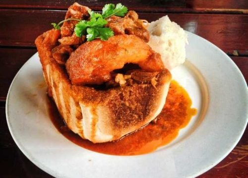 bunny chow unique authentic food trend