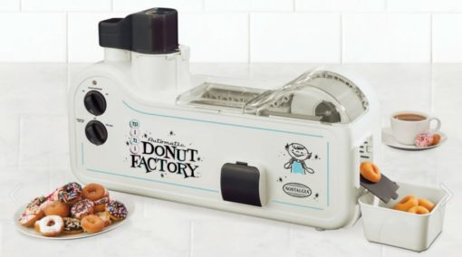 Review of the Nostalgia Electrics MDF200 automatic mini donut maker factory machine for sale