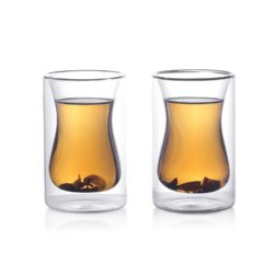double wall insulated glass tea cups gifts for foodies and food lovers