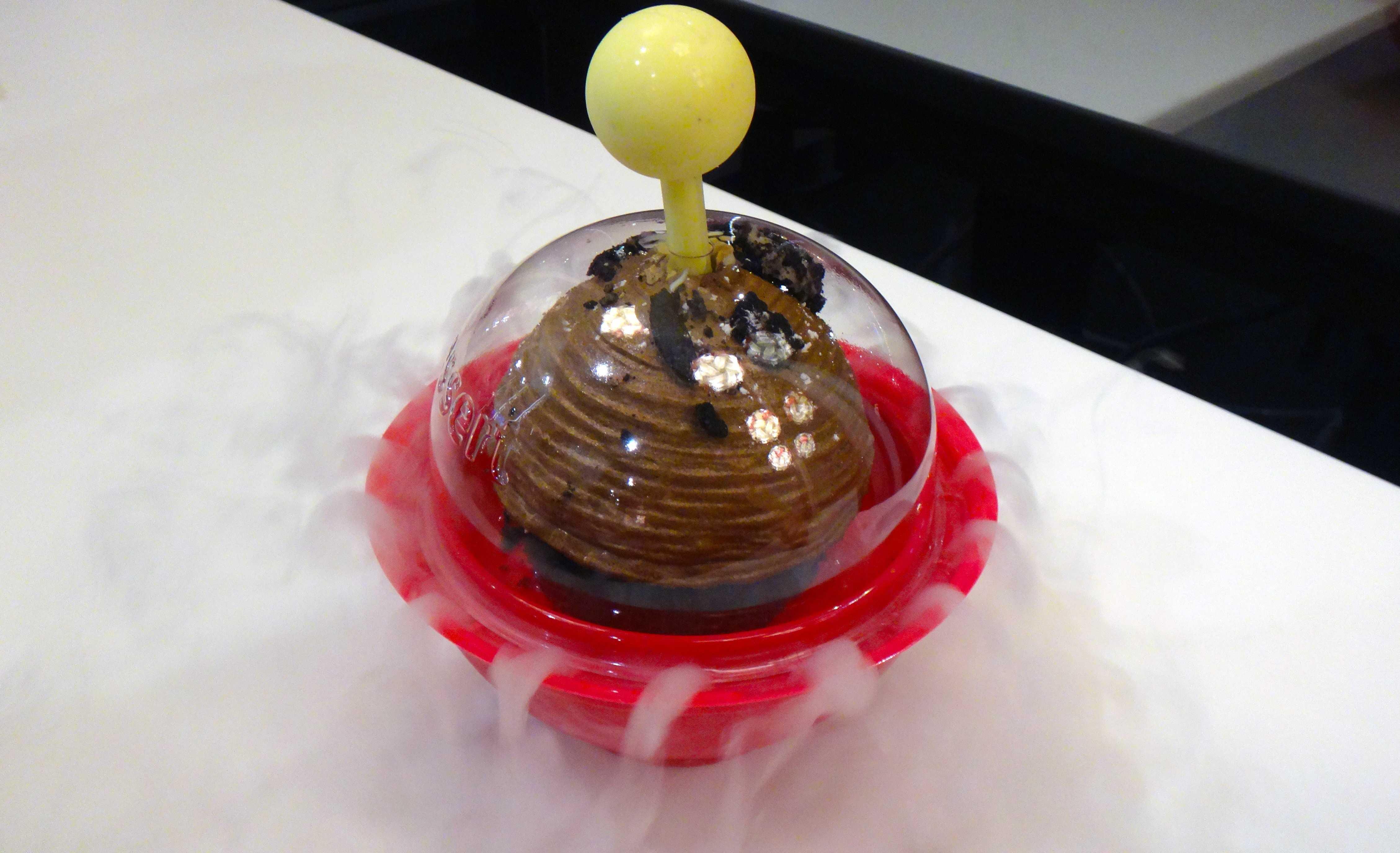 Vegas Bowl liquid nitrogen dessert