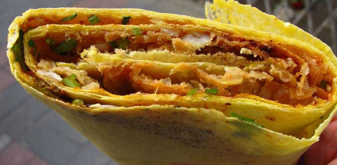 Jianbing:  the healthy Chinese street food crepe you've been missing out on