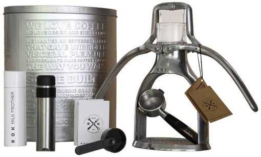 manual espresso maker gifts for foodies and food lovers