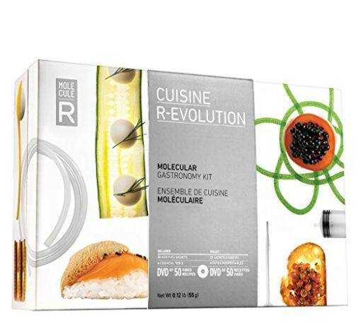 Cuisine R best professional, modern molecular gastronomy kit, gift set, tools and supplies at home