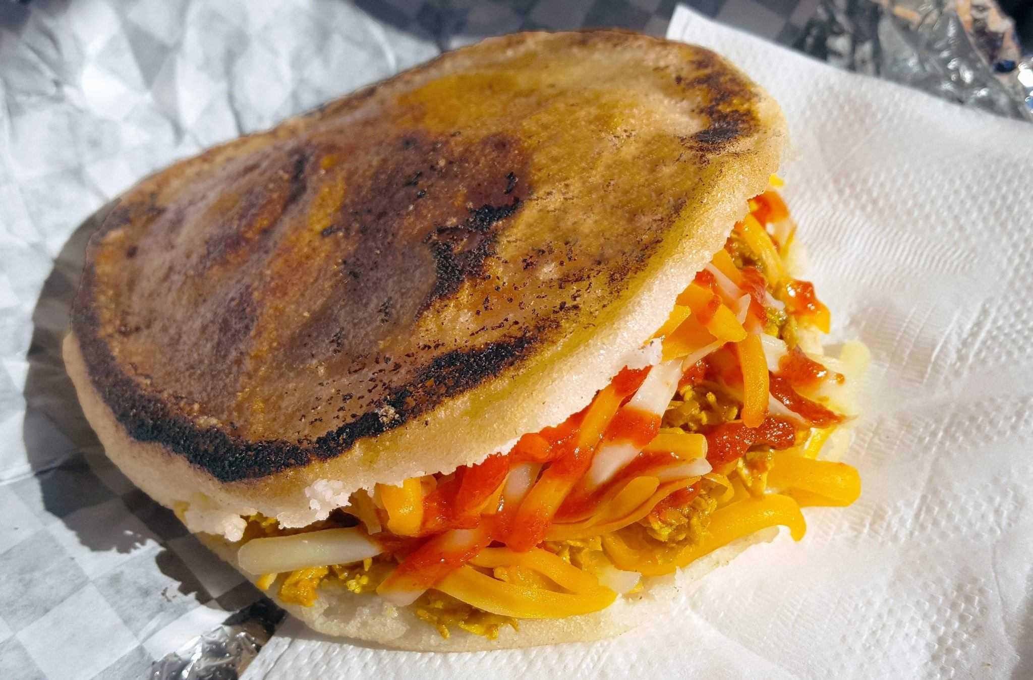 venezuelan colombian arepas on glutto