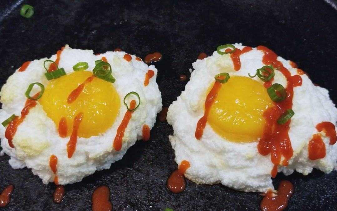 Cloud Eggs: make your brunch more heavenly