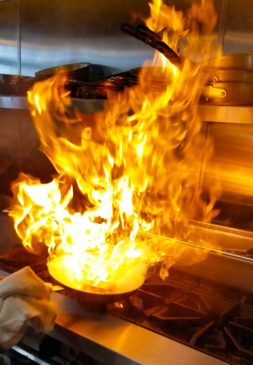 Liberty Near Me >> Flaming Saganaki Fried Cheese Recipe | Greek Cheese on