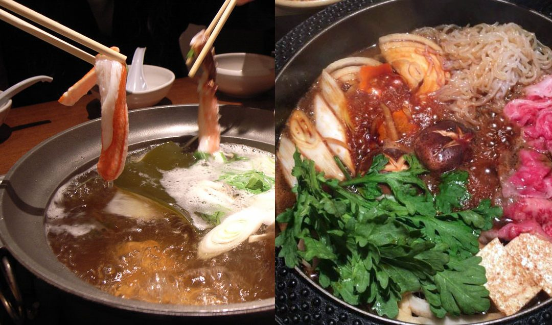 shabu shabu sukiyaki differences glutto digest