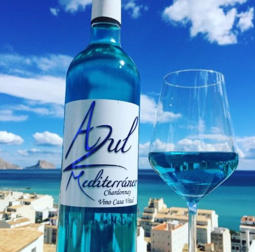 blue wine azul mediterraneo