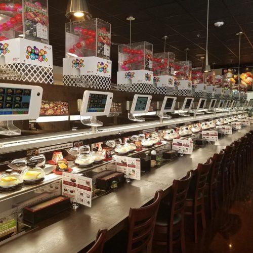 automated restaurants san diego california kula revolving sushi bar