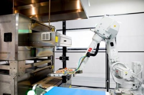 automated restaurant silicon valley mountian view california zume pizza