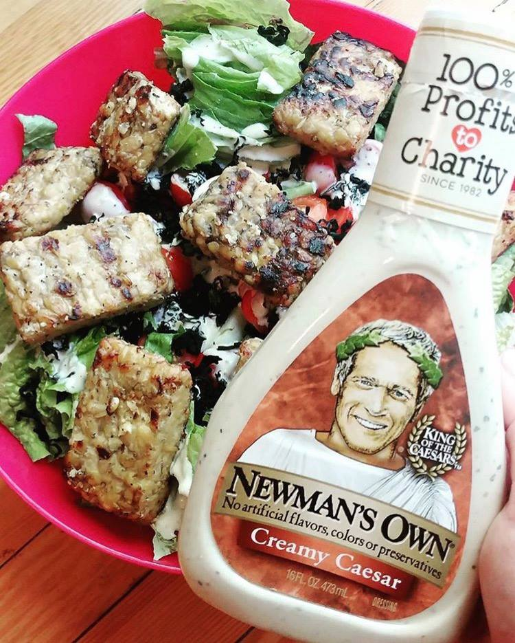 philanthropic charitable food and drink newman's own salad dressing