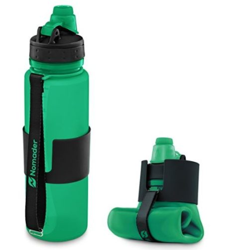 foodie food lover gifts collapsible water bottle