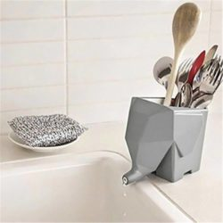 cutlery drainer and holder