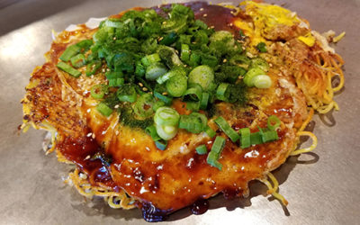 Okonomiyaki: the original (savory) Japanese pancake