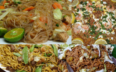 Pancit: these Filipino noodles are fat, thin and all sizes of flavor
