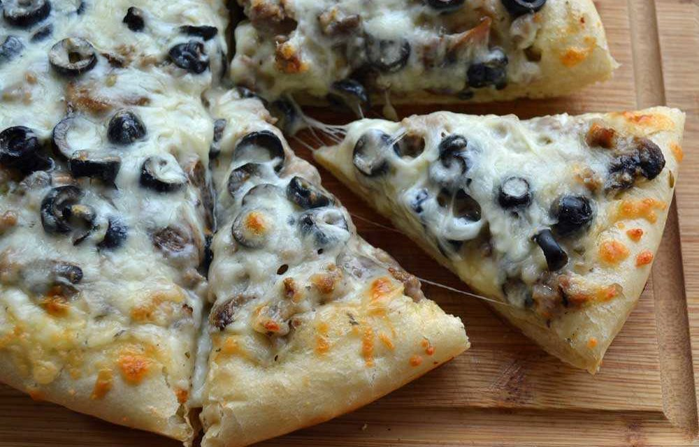 dutch oven cast iron pan pizza recipe