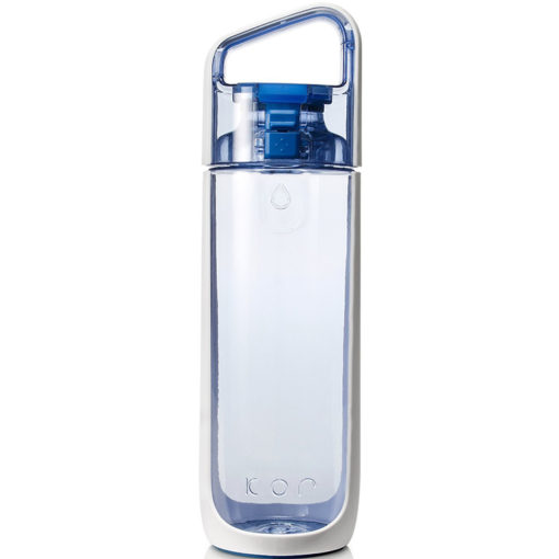 bpa free modern stylish water bottle glass alternative