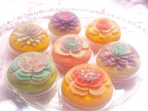 gelatin flower art san francisco