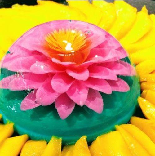gelatin flowers flower art los angeles california