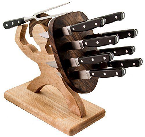 foodie food lover gifts spartan stabbed knife set