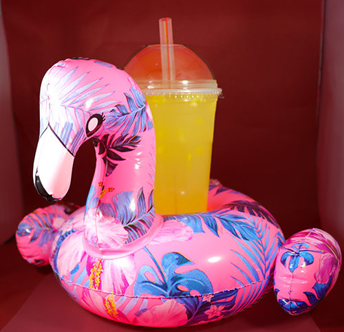 crazy drink containers flamingo unicorn floaties