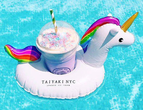 crazy drink containers unicorn floatie nyc new york