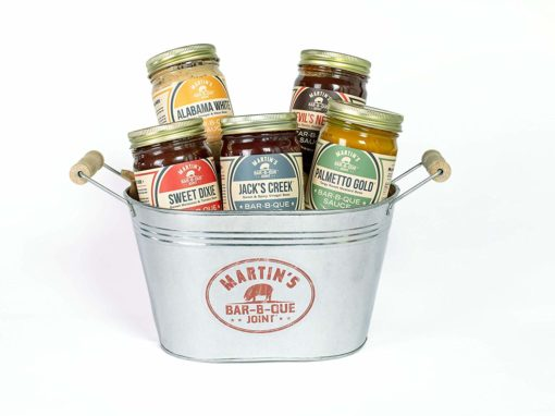 foodie food lover gifts barbecue bbq sauce bucket