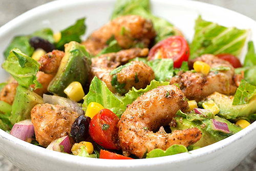 vegan shrimp salad new wave foods