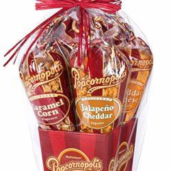 gourmet popcorn gift basket