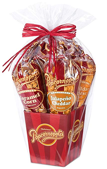 foodie food lover gifts gourmet popcorn gift basket