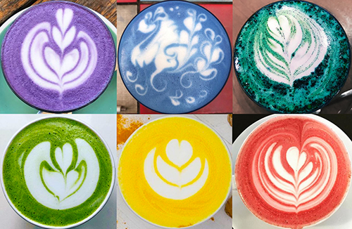 Superfood Lattes: lucma lattes, golden milk, moon milk & more