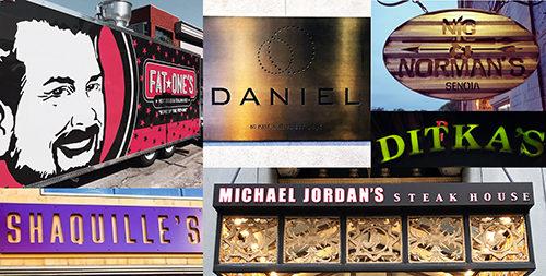 celebrity owned restaurants