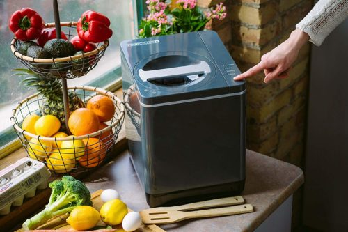 foodie food lover gifts food recycler kitchen compost container