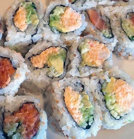 foods southern california los angeles known for sushi california roll