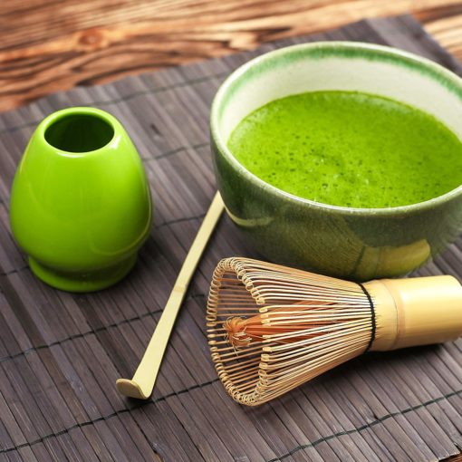 matcha tea ceremony start up kit whisk scoop