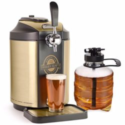 on tap beer growler cooling system