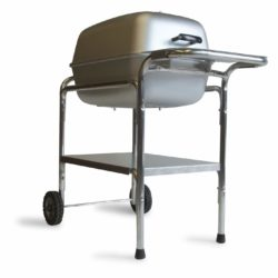 portable charcoal grill smoker combination
