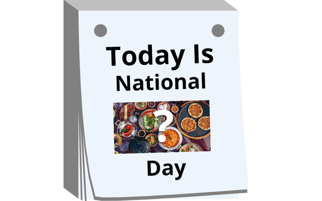 international national food holidays days