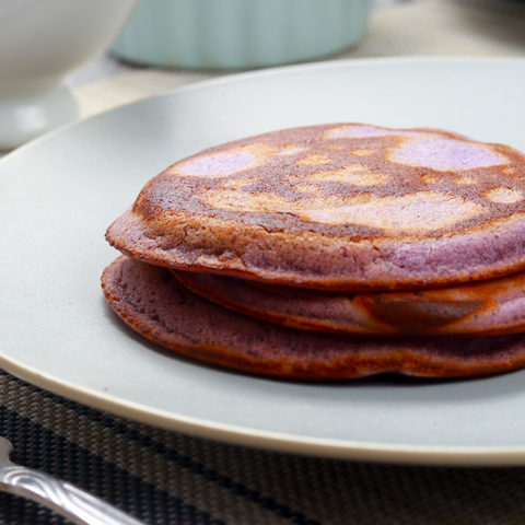 ube pancakes recipe