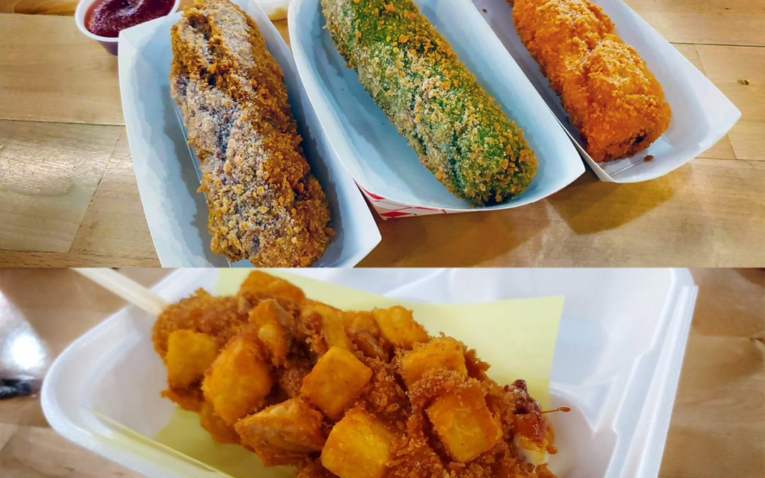 korean hot dog corn dog