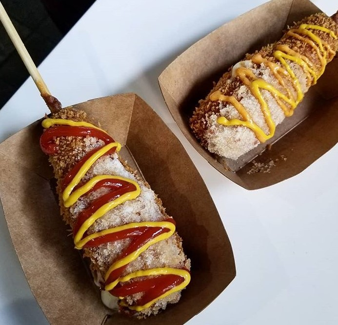korean hot dog los angeles