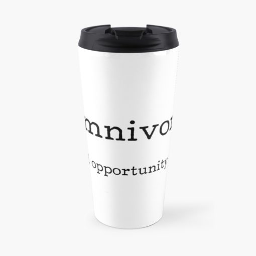 omnivore equal opportunity eater travel cup