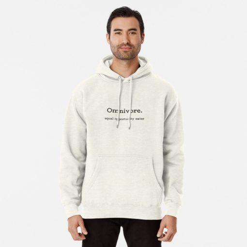 omnivore equal opportunity eater premium sweatshirt