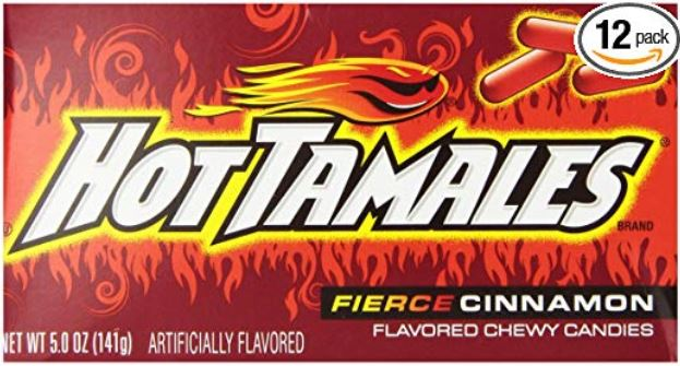 most popular halloween candies hot tamales