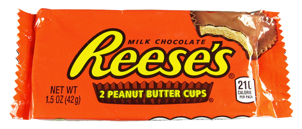 most popular halloween candy reese's peanut butter cups