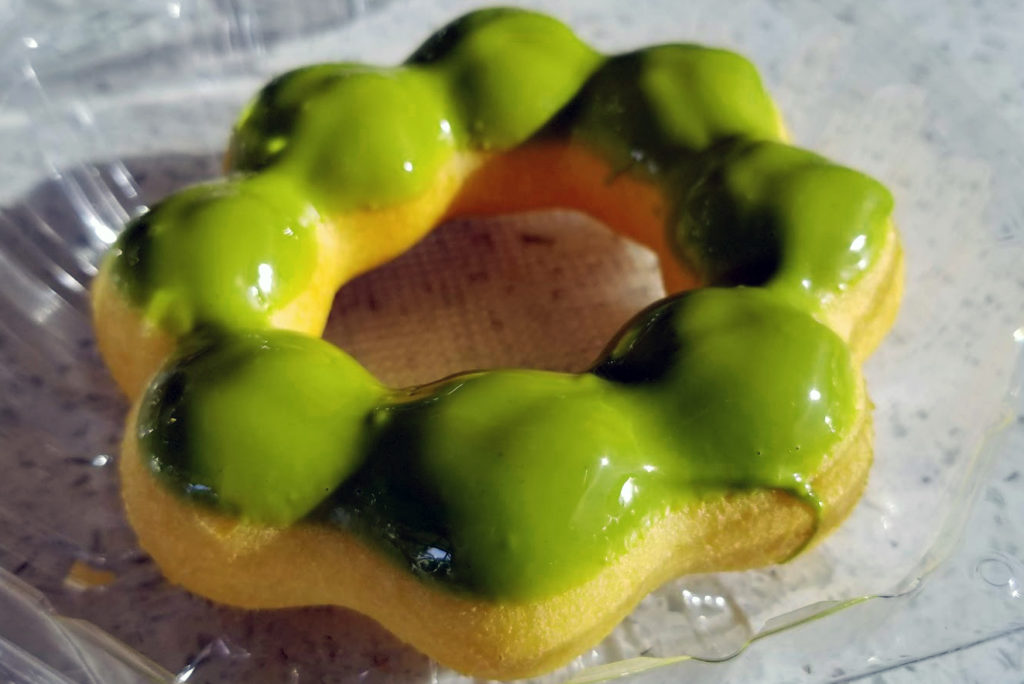 mochi donut green tea